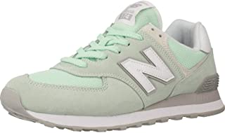 New Balance WL574ESM Womens in Seafoam/Overcast, 10 US