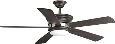 Progress Lighting P2540-14330K Harranvale Ceiling Fans, Black