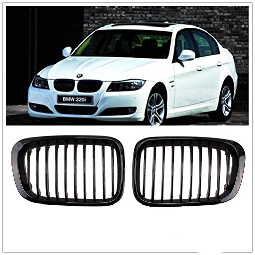 Price comparison product image Front Replacement Black Kidney Grille Grill for BMW 1998-2001 3 Series