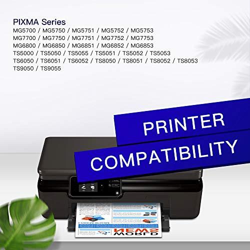GPC Image 20 Pack PGI-570XL CLI-571XL Cartucho de Tinta Compatible para Canon PGI-570 CLI-571 XL para Canon Pixma MG5750 TS5053 TS5050 MG6850 MG5751 TS5051 TS6051 MG6852 TS5055 MG5753 TS6050 MG6851