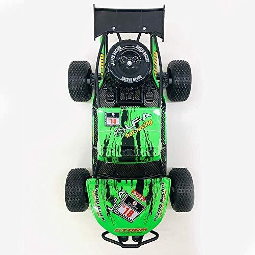 ADLIN Terrain Rc Cars, 2,4 GHz Super-kollisionssicherere Fernbedienung Auto-Akku, High-Speed-Buggy Monster Truck Crawler, Einzelradaufhängung, Geschenk for Kinder EIN