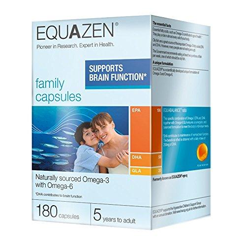 Equazen Eye Q Omega 3 & 6, 180 caps