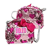 JoJo Siwa Girls Crossbody Bag with Brushed Sequins