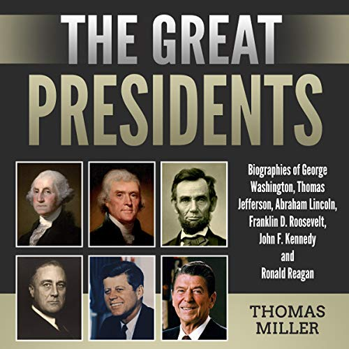 The Great Presidents audiobook cover art