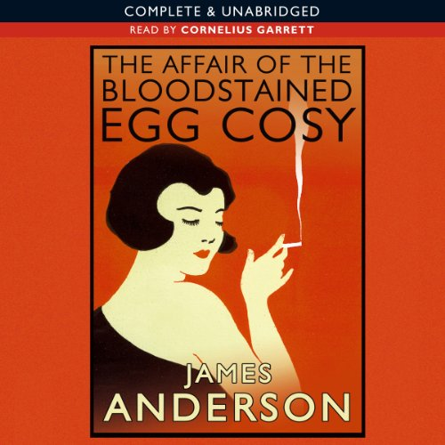 The Affair of the Bloodstained Egg Cosy audiobook cover art