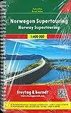 Norvegia atlante 1:400.000: Wegenatlas 1:400 000