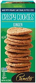 Pamela's Crispy Gluten Free Cookies (Ginger, Pack - 1)