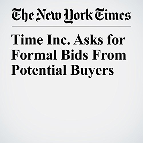 Time Inc. Asks for Formal Bids From Potential Buyers copertina