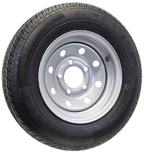 12 inch trailer wheel and tire - 9