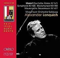 Sechs Deutsche T盲nze Symphoni by WOLFGANG AMADEUS MOZART