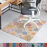Anji Mountain Rug'd Collection Chair Mat, 36 x 48-Inch, Keukenhof