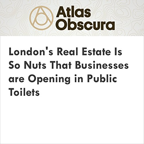 London's Real Estate Is So Nuts That Businesses are Opening in Public Toilets audiobook cover art