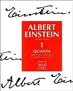 Oeuvres choisies, tome 1 - Quanta d'Albert Einstein
