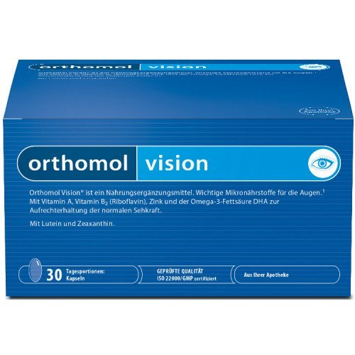 ORTHOMOL Vision Capsules Pack of 30