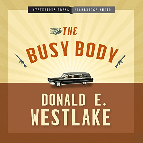 The Busy Body audiobook cover art