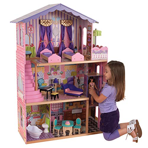 KidKraft-My Dream Mansion Casa de muñecas de madera con
