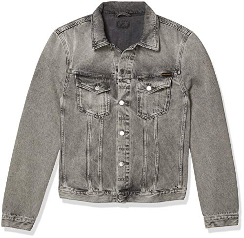 Men's Grey Denim Jacket