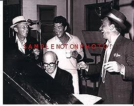 Bing Crosby, Dean Martin & Frank Sinatra 8 x 10 Photo Hanging Around a Piano