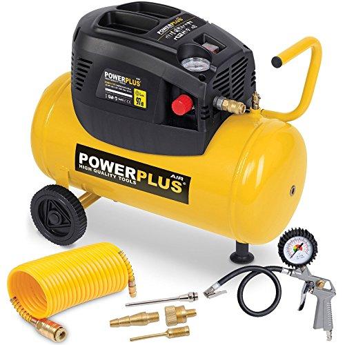 Powerplus powx17301100W 180L/min AC Luftkompressor
