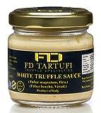 FD TARTUFI White Truffle Sauce 80g (2.82oz) - Gourmet Sauce   Condiments   Made in Italy   non gmo  ...