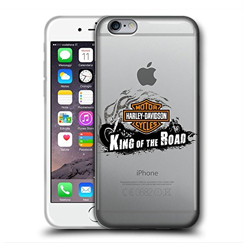 SDGGRGGVCBF Cover iPhone 5 5S SE Cases Clear Soft Case Ultra Thin TPU Rubber Transparent Silicone Gel Protective Cover Harley D