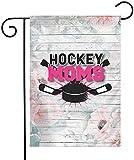 YeeATZ Hockey Mom Double Sided Flag 12x18 Inch Courtyard Balcony Durable Flag...
