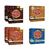 Paquete de cápsulas de café variadas Marcilla - Cápsula de café de aluminio compatible con Nespresso® * - 5 paquetes (100 cápsulas)