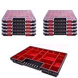 Sortimentskasten Kunststoff Sortimentsbox NORP 16 im 10er Set Maße ca.400x300x50 mm