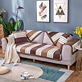 TUANTALL Fundas Sillon Funda de sofá Sofás Cubre Klippan Cubierta de sofá Cubierta de sofá elástico Sofá Cubierta de Asiento Cubierta de sofá 70X90,Brown