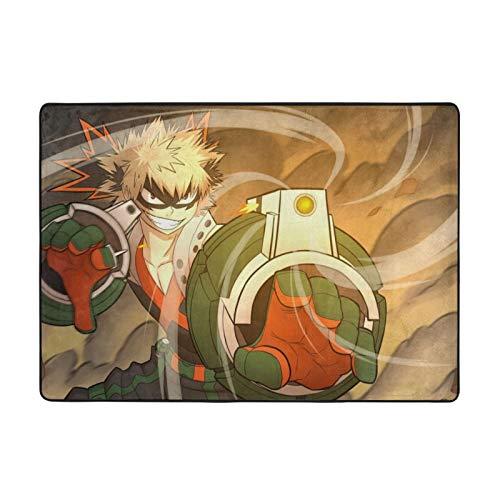 KZLXCH Anime My Hero Academia - Alfombras de peluche (213 x 152 cm)