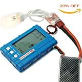 Targerthobby 3 IN1 50W Discharger Voltage Tester Balancer For Lipo Battery