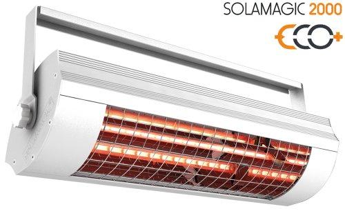 Etherma IR-Heizstrahler Solamagic o.Schalter,weiß SM-2000-W