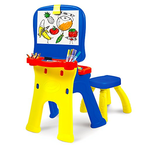 Product Image of the Crayola Triple-the-Fun Art Studio Kids Easel