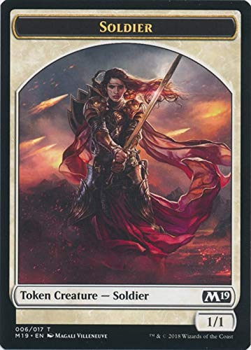 Magic: The Gathering - Soldier Token - Core Set 2019