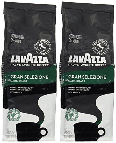 Lavazza Gran Selezione Dark Roast Ground Coffee