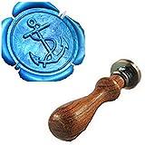 Photo Vintage chevilles Fancy Custom Logo de mariage Invitation Kit tampon Joint d'étanchéité Joint de cire Stamp Only