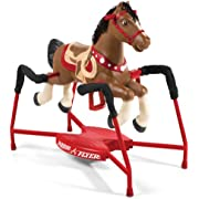 Radio Flyer Blaze Interactive Riding Horse, Brown, 36.00 x 41.00 x 21.00 inches, 381