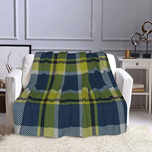 KCOUU Couverture polaire 127 × 152 cm Plaid luciole éclectique douce et chaude Couverture décorative pour canapé, lit, canapé, voyage, maison, bureau, toutes saisons