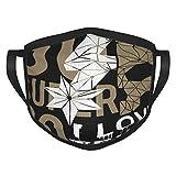 I Love Texas Go super go slogan Adulti bordura Maschere Fad Flower Paint & Ink Maschere per il viso lavabili Rivestimenti facciali portatili Protezione del viso Bordo elastico 1 confezione