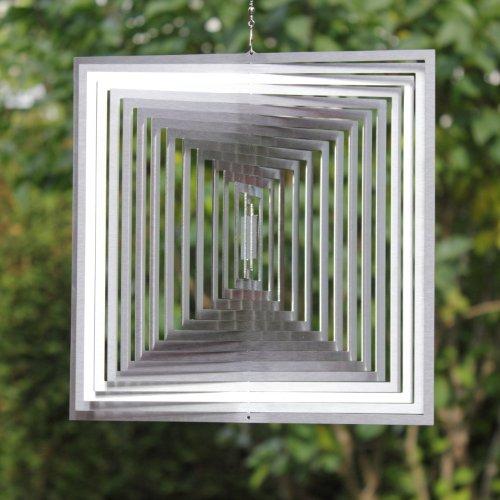 Windspiel MAGISCHES QUADRAT -absolut Wetterfest- Stolze 22,5cm Groß