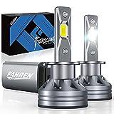 Fahren H1 LED Headlight Bulb, 60W 10000 Lumens Super Bright LED...