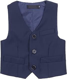 Kids Baby Boys Weeding Birthday Party Gentleman Formal Suit Vest Waistcoat