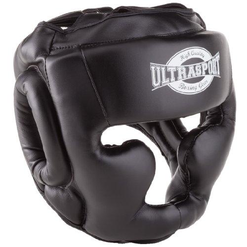 Ultrasport Full Face - Protector de boxeo, color negro, talla XL
