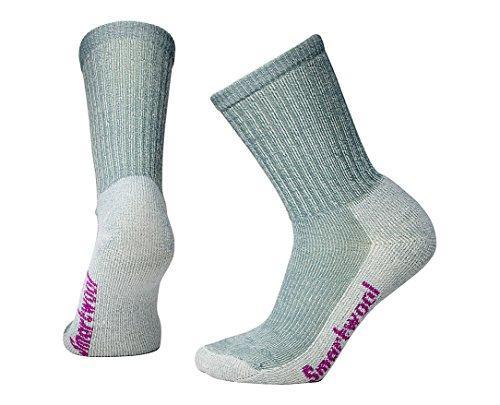 Smartwool Damen Socken Strümpfe Women's Hike Light Crew, Grau (Light Gray), 38-41 (M)