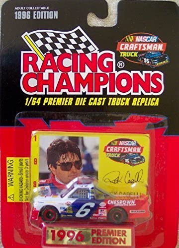1996 Premier Edition Racing Champions Rick Carelli  6 Truck Die Cast 1 64 Scale w Collector Card and Display Stand by Racing Champions