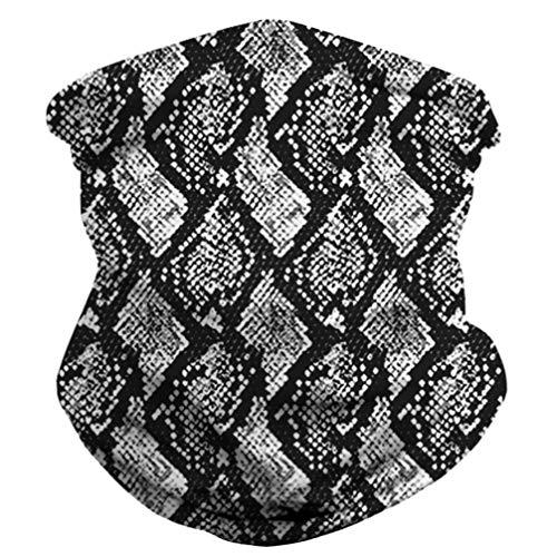 WINOMO 3D Visage Écharpe Couverture Cou Guêtre Chapeaux Foulard Magique Balaclava Bandana pour La Pêche Moto en Cours Dexécution