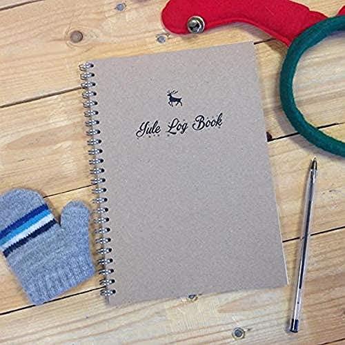 Cancelleria Geek Yule Log Book – Agenda natalizia – A4