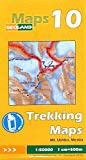 GeoLand Trekking Maps Mt. Ushba, Mestia