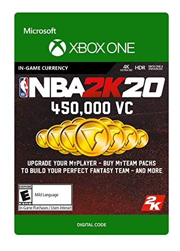 NBA 2K20: 450,000 VC 450,000 VC - [Xbox One Digital Code]