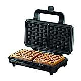Borosil - BWM100SS11 Neo Waffle Maker, 1000 W, Silver